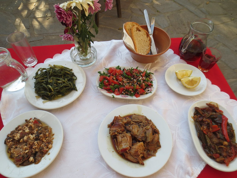 Greek peasant food